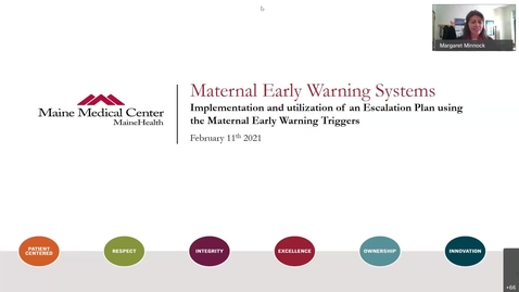Thumbnail for entry OB Focus Maternal Early Warning Systems  What are they and how do they work-20210211 1450-1