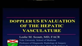 Thumbnail for entry Doppler US Evaluation of the Hepatic Vasculature