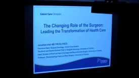 Thumbnail for entry Changing Role of the Surgeon: Leading the Transformation of Health Care