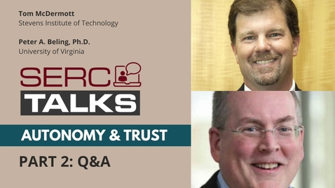Thumbnail for entry PT.2 Q&A: Can We Assure Resilience of Cyber-Physical Systems Using Model-Based Systems Engineering?