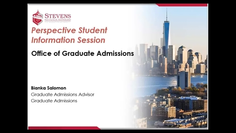 Thumbnail for entry Office of Graduate Admissions:  Department of Biomedical Engineering Prospective Student Webinar Dr. Xiaojun Yu