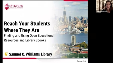 Thumbnail for entry Reach Your Students Where They Are: Finding and Using Open Educational Resources and Library Ebooks