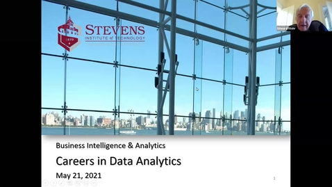 Thumbnail for entry Careers in Data Analytics
