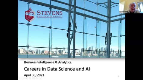 Thumbnail for entry Careers in Data Science & AI