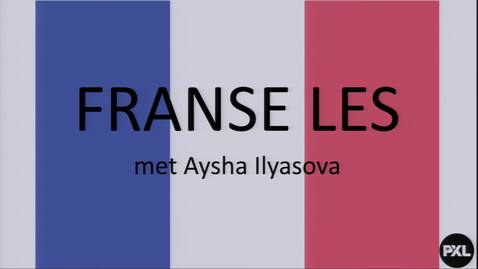 Thumbnail for entry Les 4 - Frans - Aysha Ilyasova