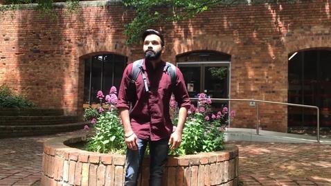 Thumbnail for entry FedUni Mechanical Engineering student testimonial (Aditya)