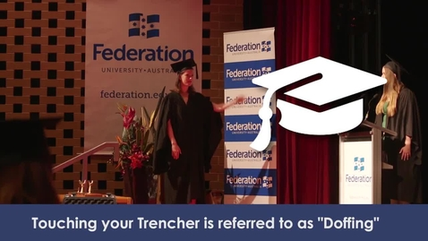 Thumbnail for entry Graduations - what to do on stage