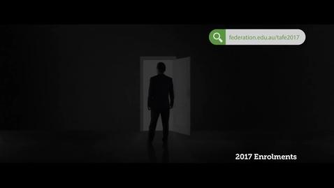 Thumbnail for entry TAFE 2017 Enrolments