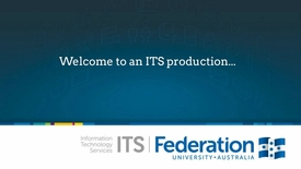 Thumbnail for entry New ITS ServiceDesk Portal