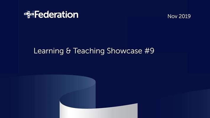 Dr. David Bean - L&T showcase 2019