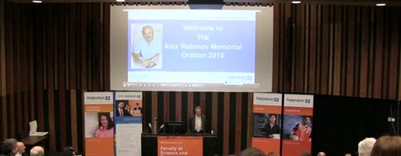 Alex Rubinov Memorial Oration 2015 - Doing Maths A Risk Free Choice