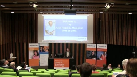 Thumbnail for entry Alex Rubinov Memorial Oration 2015 - Doing Maths A Risk Free Choice