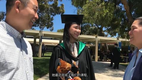 Thumbnail for entry FedUni Master of Teaching student testimonial with Chinese subtitles