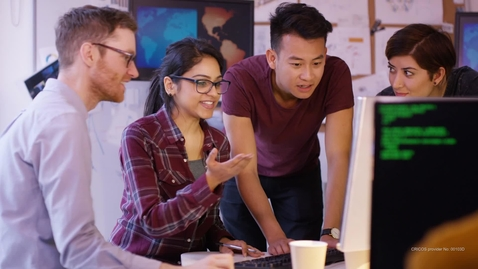Thumbnail for entry FedUni Brisbane -  Study MTech Enterprise Systems & Business Analytics