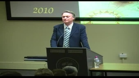 "Alex Rubinov Memorial Oration 2010 - ""Mathematics: Mystery or Misery?"" - Professor Sid Morris"