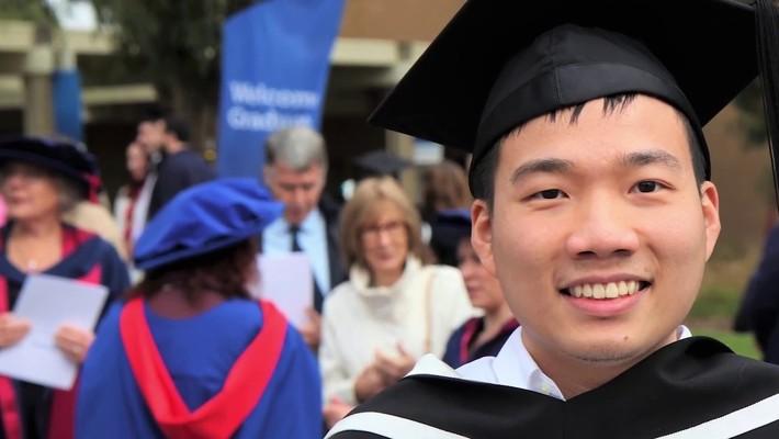 FedUni IT student testimonial - Trong