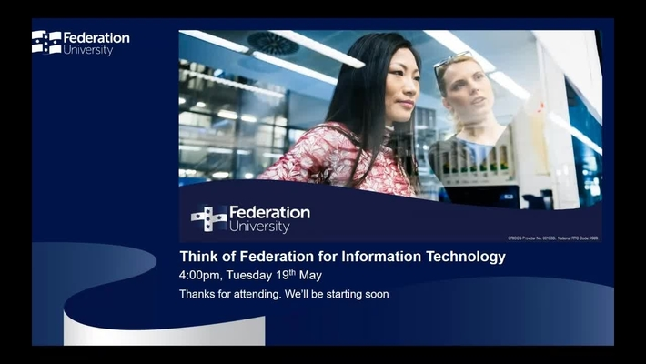 Think of Federation for Information Technology Webinar