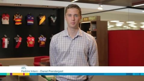 Thumbnail for entry Daniel Prendergast - Bachelor of Sport Management-Bachelor of Business