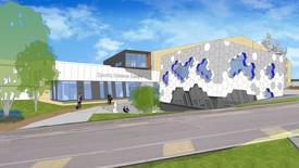 Thumbnail for entry Picture 5 - University Way - View of building to north-west entry