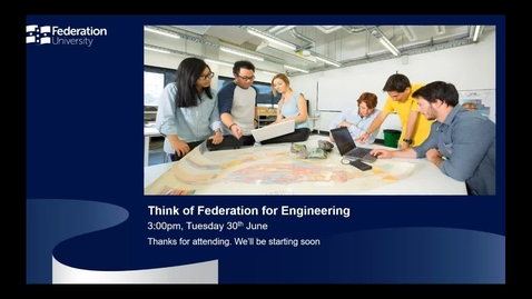 Thumbnail for entry International Webinar - Engineer Your Future