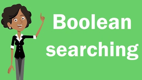 Thumbnail for entry Introduction to Researching. Pt 2 - Boolean searching