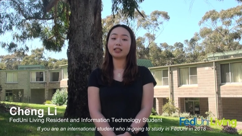 Thumbnail for entry International Commencing Students Accommodation Scholarships 2018 (Spoken in Chinese)