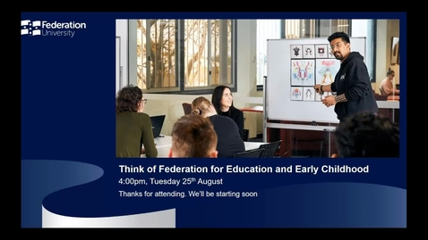 Thumbnail for entry International webinar - Education and Early Childhood