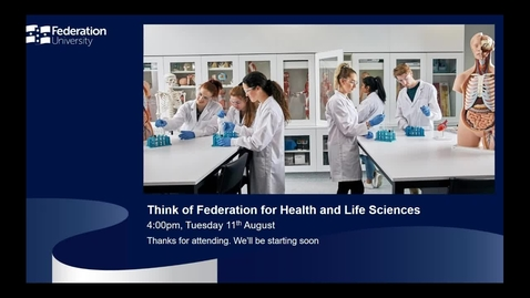 Thumbnail for entry International webinar - Health and Life Sciences