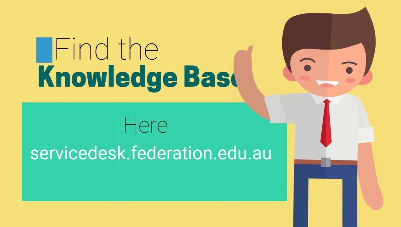 STUDENTS- How to Access Knowledge Base Articles