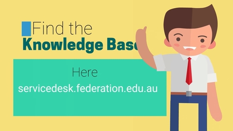 Thumbnail for entry STUDENTS- How to Access Knowledge Base Articles