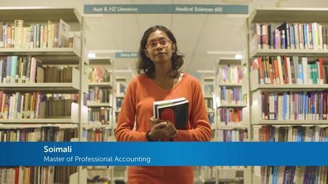 Thumbnail for entry International student testimonial - Accounting at FedUni