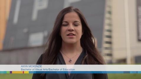 Thumbnail for entry Anya McKenzie - FedUni Double degree Education Visual Arts