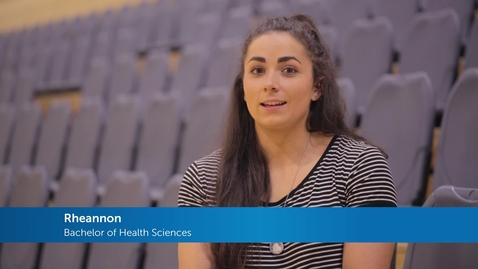 Thumbnail for entry Health Sciences Testimonial