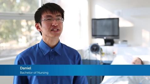 Thumbnail for entry International student testimonial - Nursing at FedUni