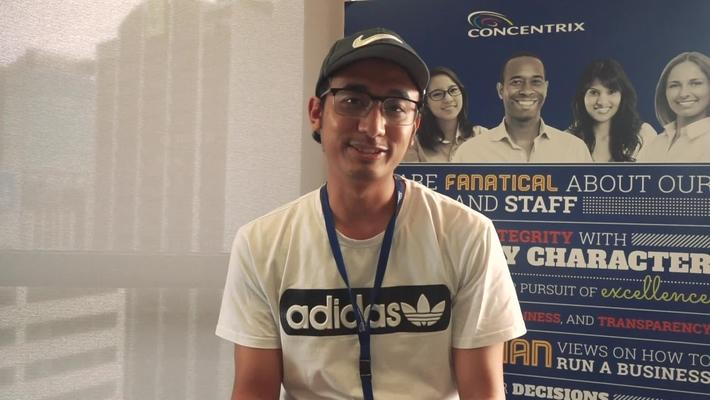FedUni Brisbane student story Sampresh, Master of Technology (Software Engineering) and Concentrix