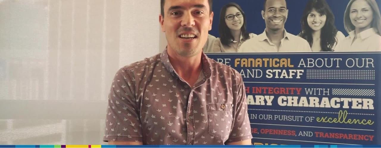 FedUni Brisbane and Concentrix partnership - Tom Sutherland