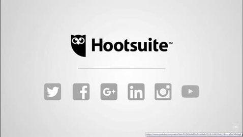 Thumbnail for entry Getting started on Hootsuite
