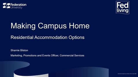 Thumbnail for entry Open Day 2021 | Making Campus Home