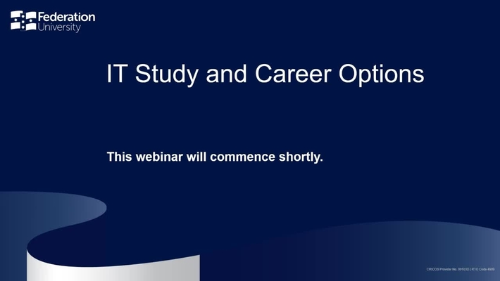 IT Study and Career Options