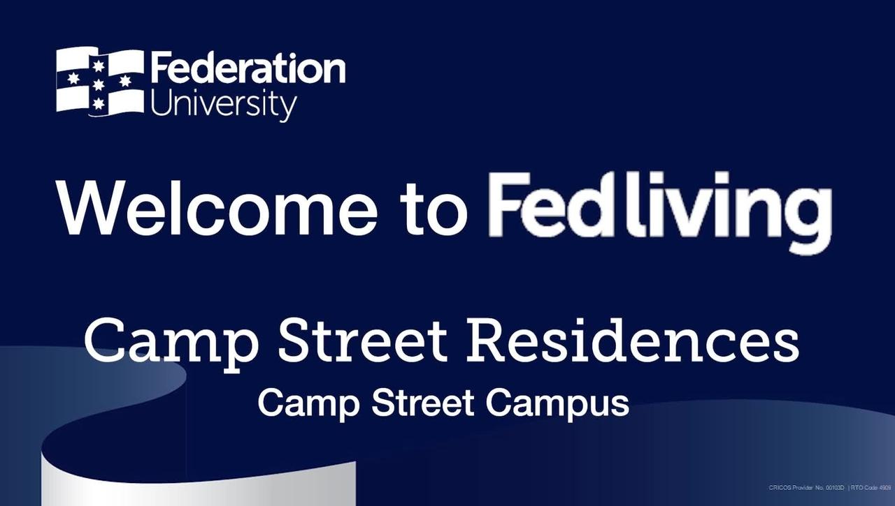 Federation University Residence Tour, Camp Street Residences, Camp Street Campus, Ballarat