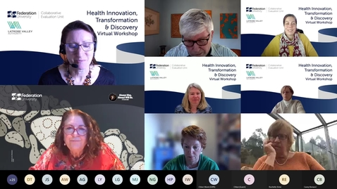 Thumbnail for entry Health Innovation, Transformation & Discovery Virtual Workshop No. 1 (15 September 2021) – Part 3: Breakout Discussions