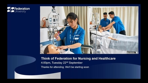 Thumbnail for entry International webinar - Nursing and Healthcare