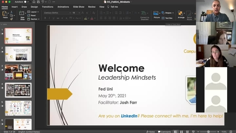 Thumbnail for entry Emotional Intelligence - Leadership Mindsets