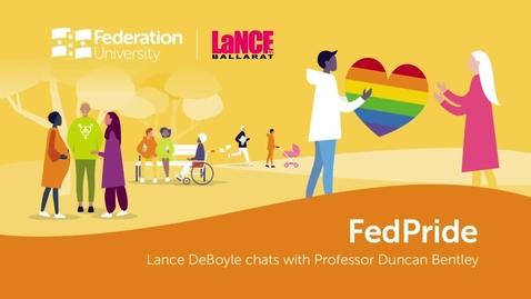 Thumbnail for entry FedPride Launch - LaNCE Ballarat