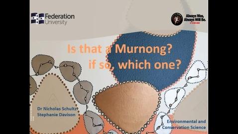 Thumbnail for entry Murnong Identification Presentation