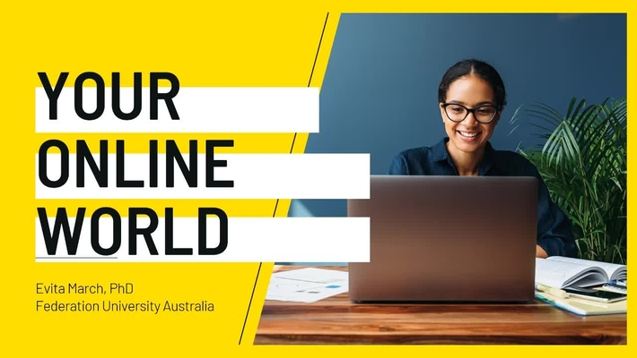 Lunch and learn: Your online experience - how it is constructed and understanding ways to master it