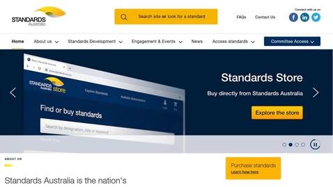 Thumbnail for entry Using Australian Standards Online