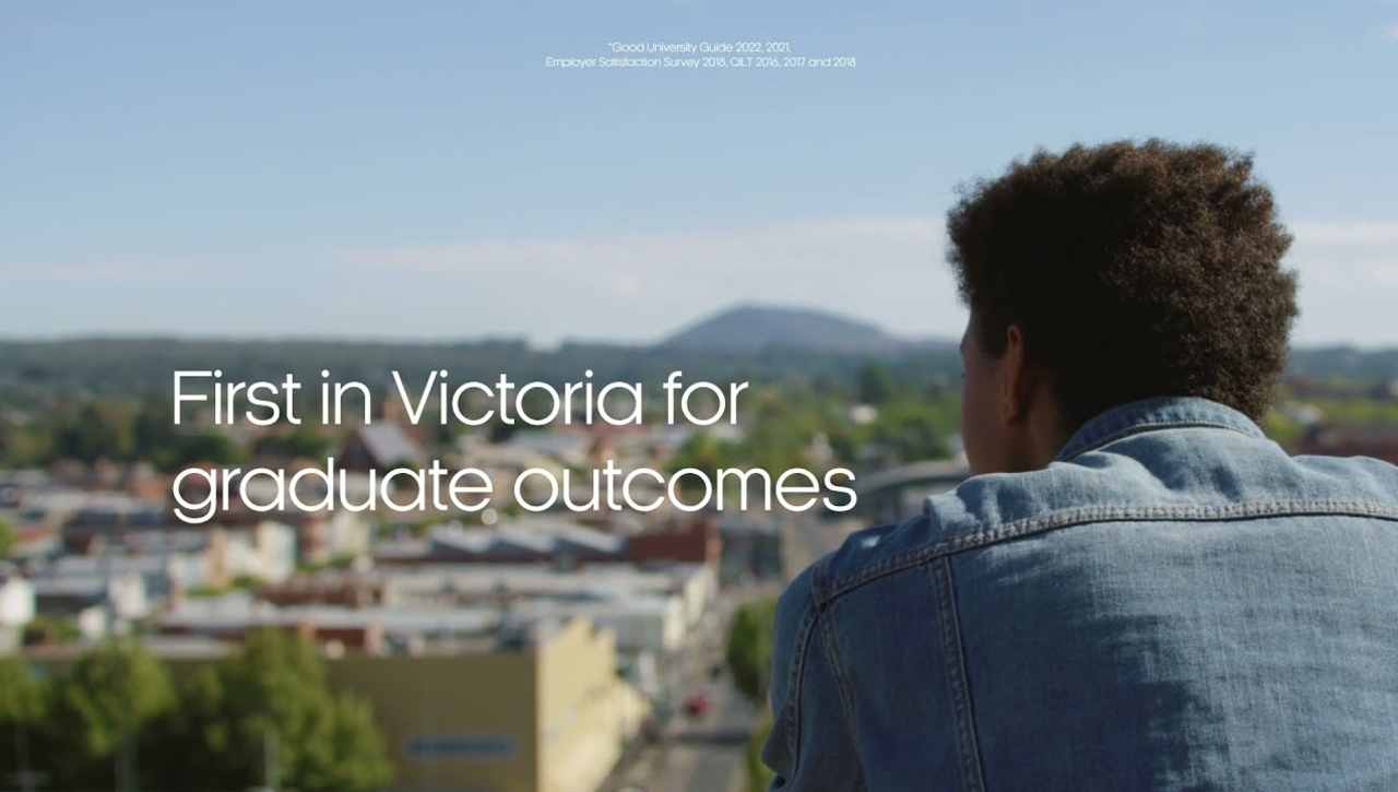 Federation University - ranked #1 in Vic for Graduate Outcomes six years running