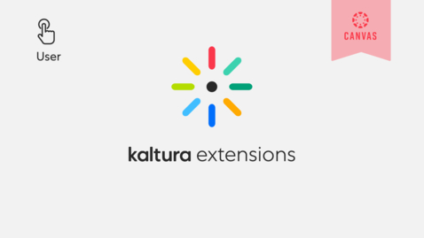 Thumbnail for entry How to Embed a Kaltura Media in the Context of a Canvas Course