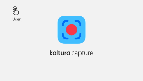 Thumbnail for entry Getting Started with Kaltura Capture Application